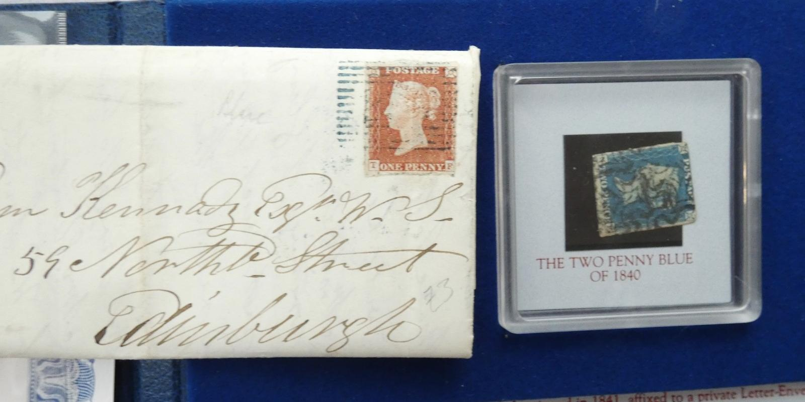 TWO COLLECTOR STAMPS