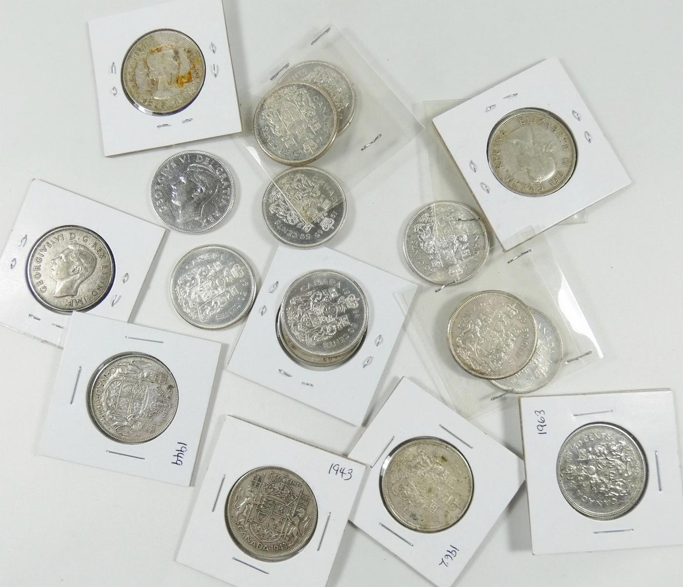 CANADIAN SILVER 50-CENTS
