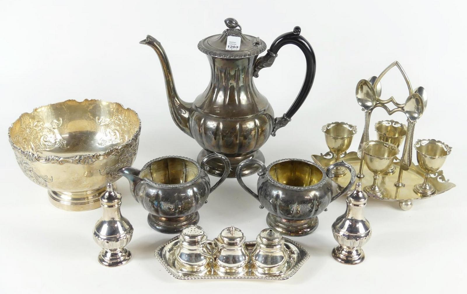SILVERPLATED ITEMS