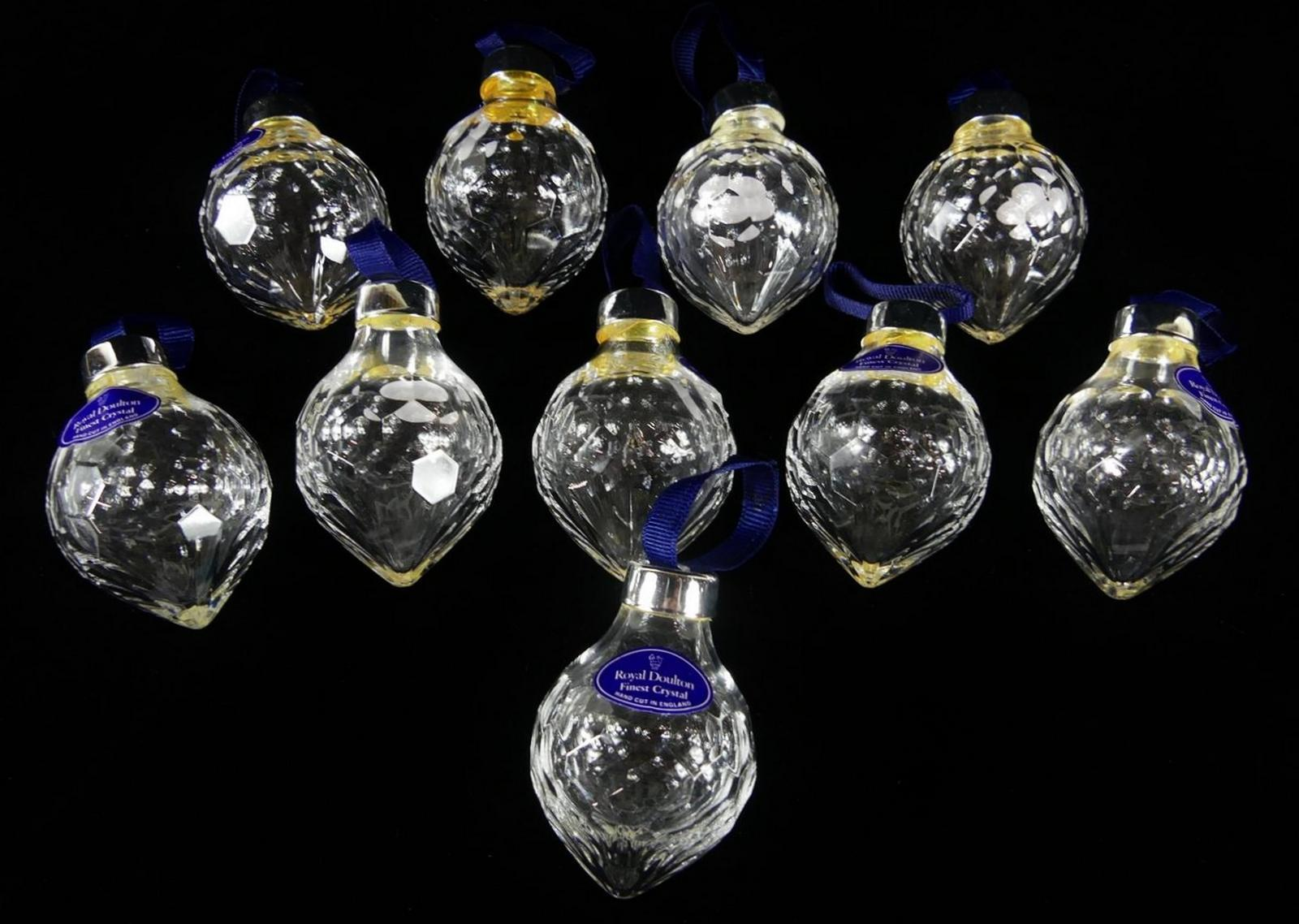 ROYAL DOULTON CHRISTMAS TREE ORNAMENTS