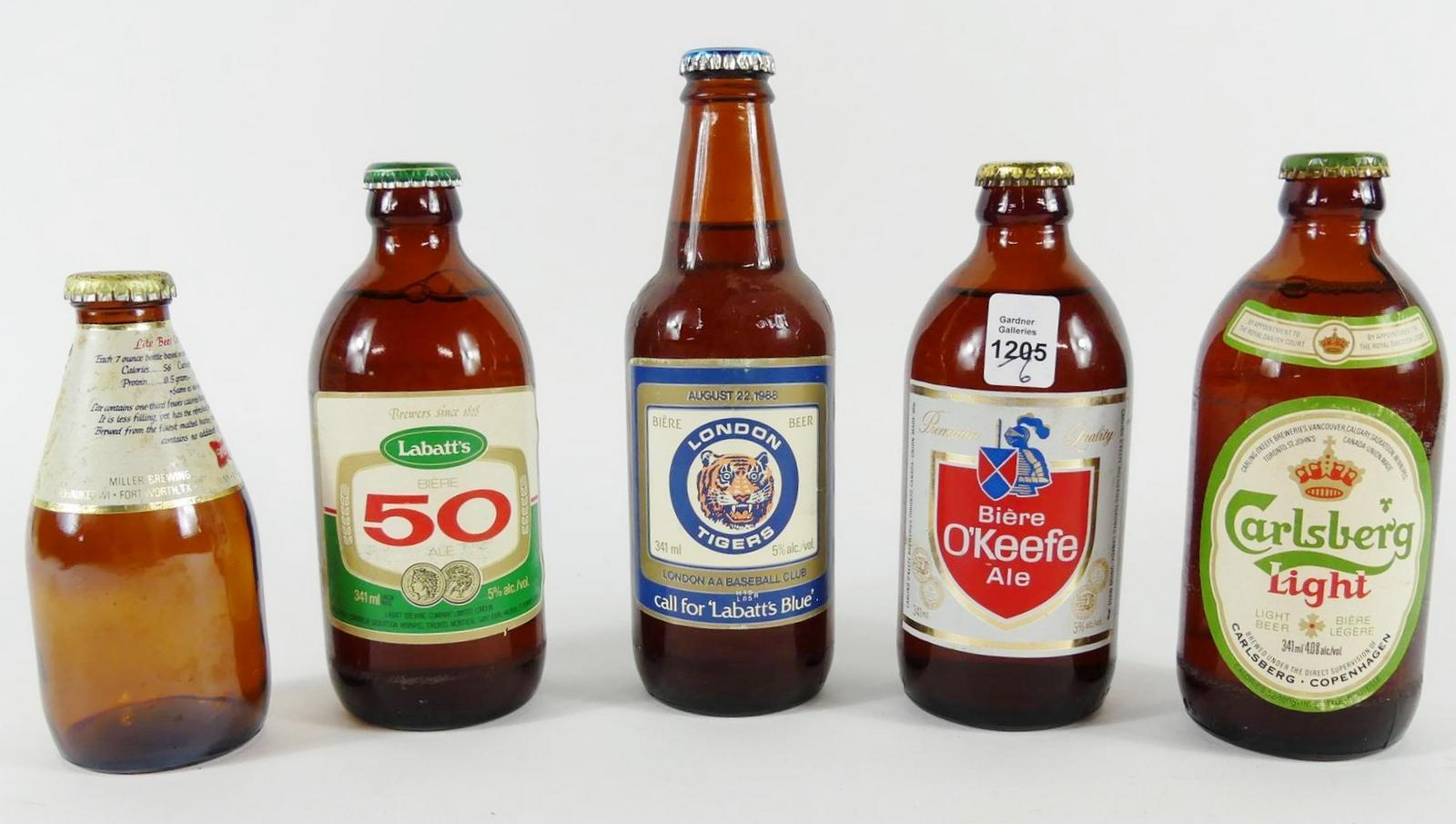 COLLECTOR BOTTLES