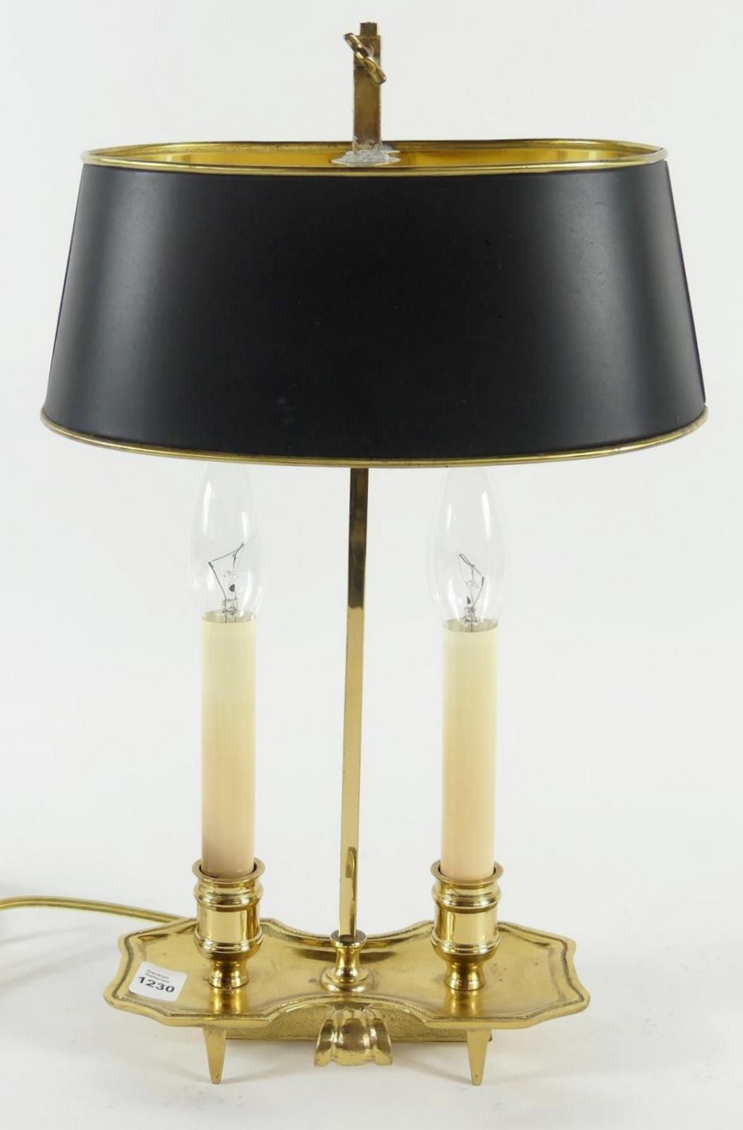 BOUILLOTTE STYLE LAMP