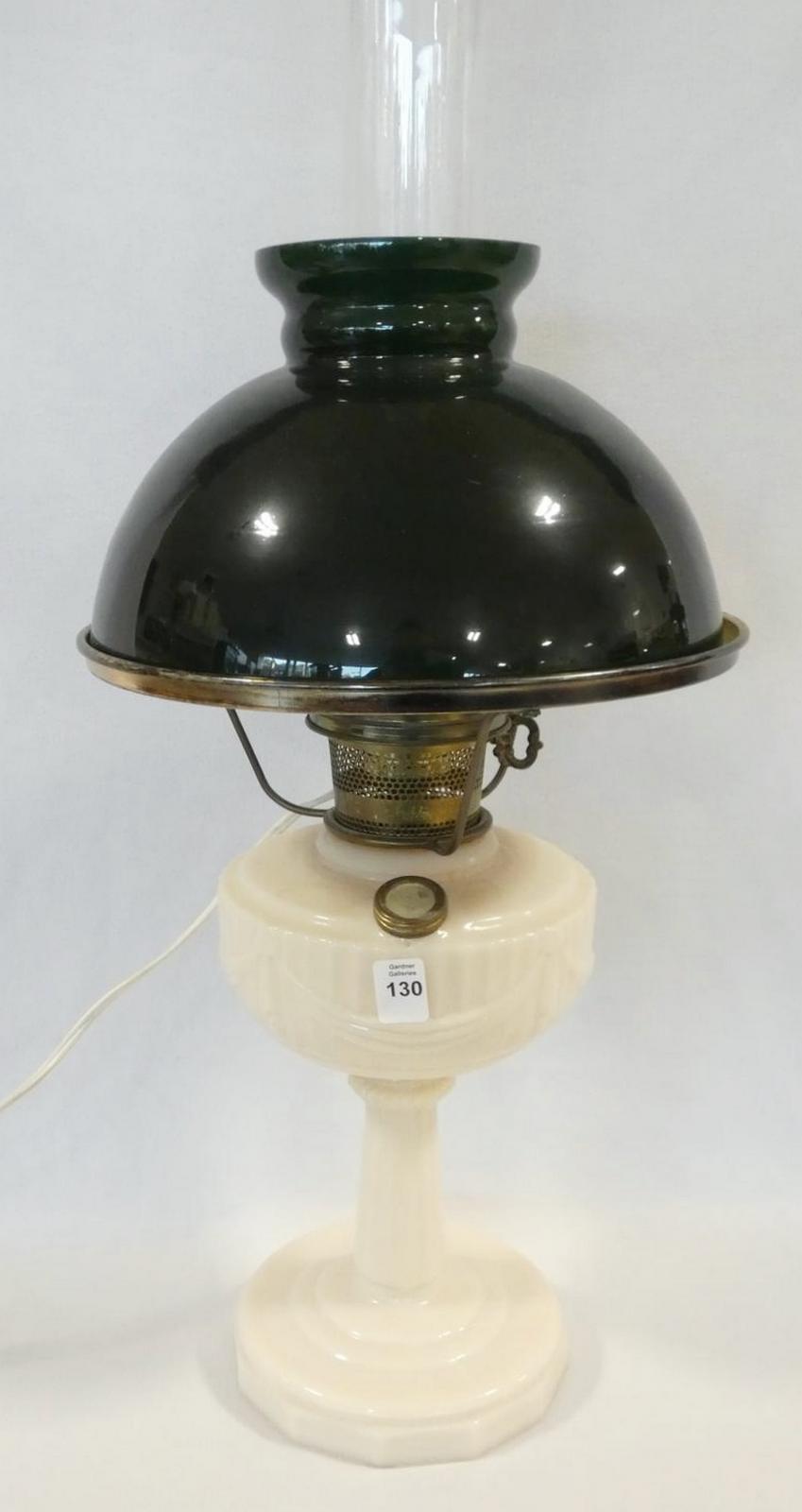 ELECTRIFIED ALADDIN OIL LAMP