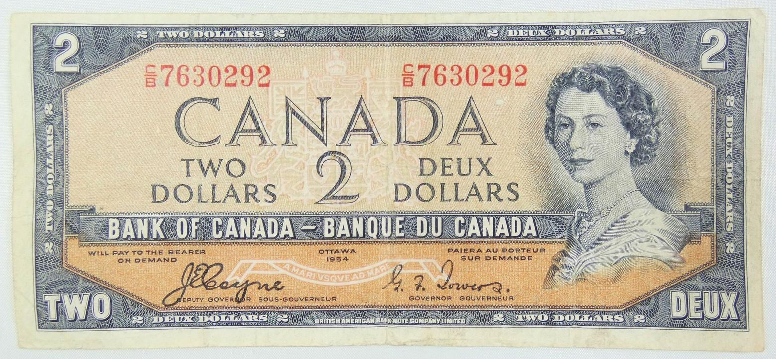 "CANADIAN ""DEVIL'S FACE"" NOTE"