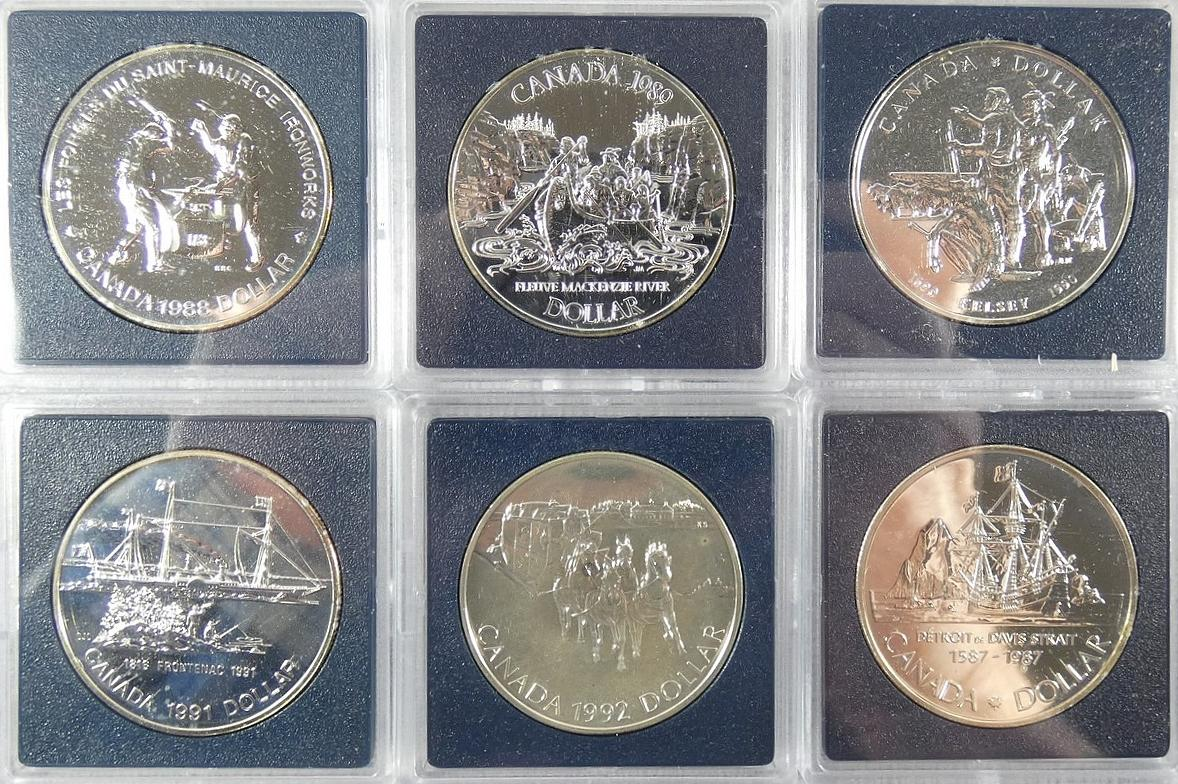 CANADIAN SILVER DOLLARS