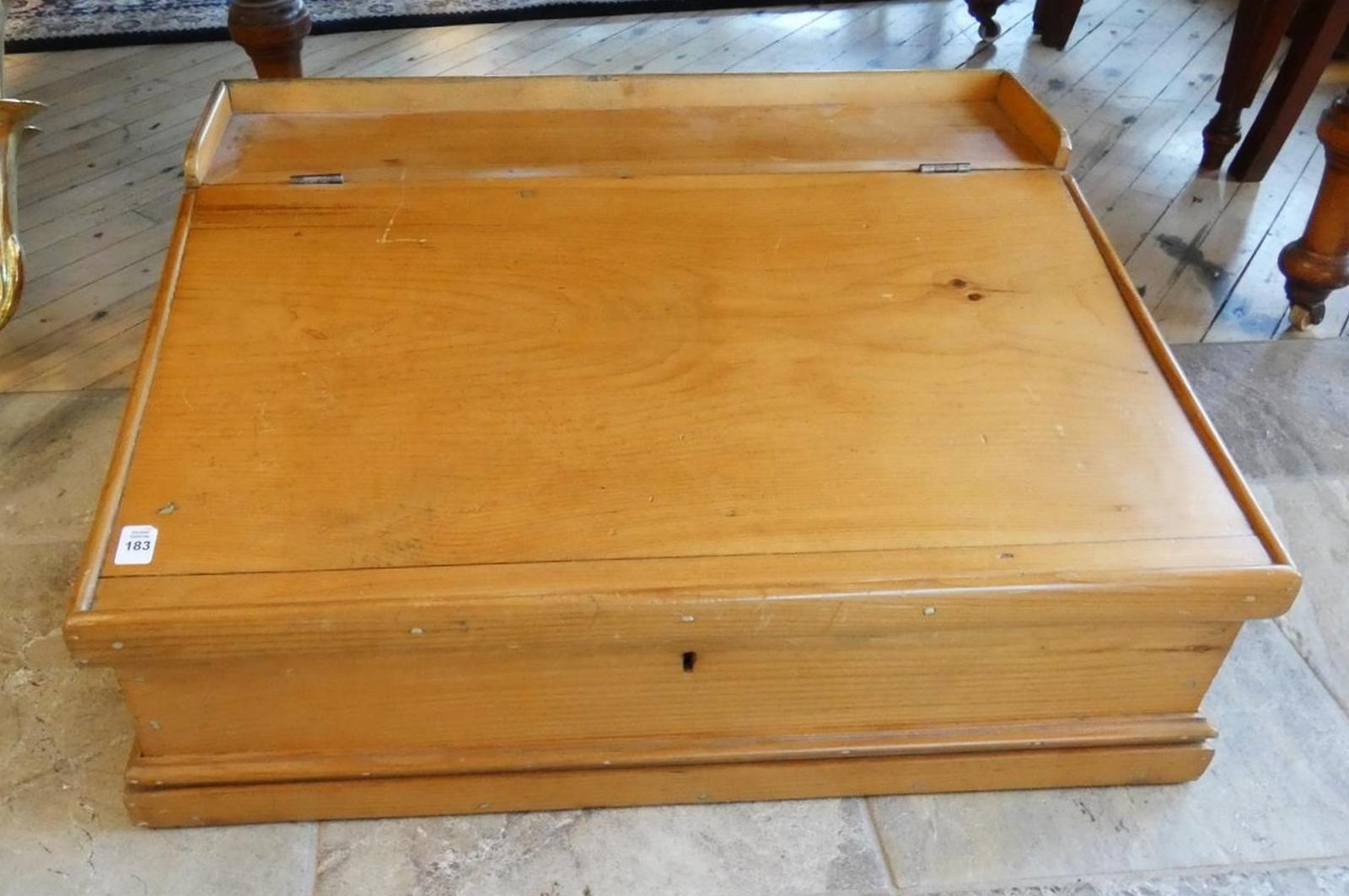 PINE TABLE TOP DESK