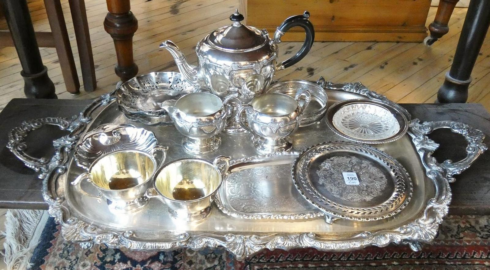 ASSORTED SILVERPLATE