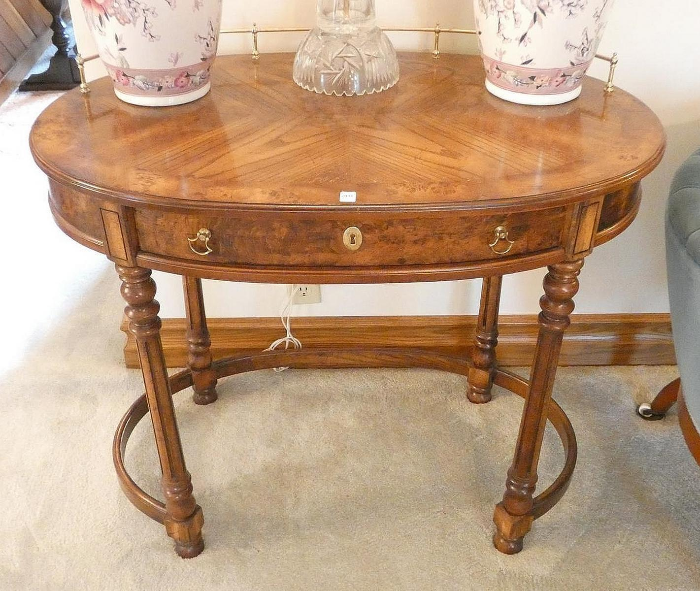 OVAL CENTRE TABLE