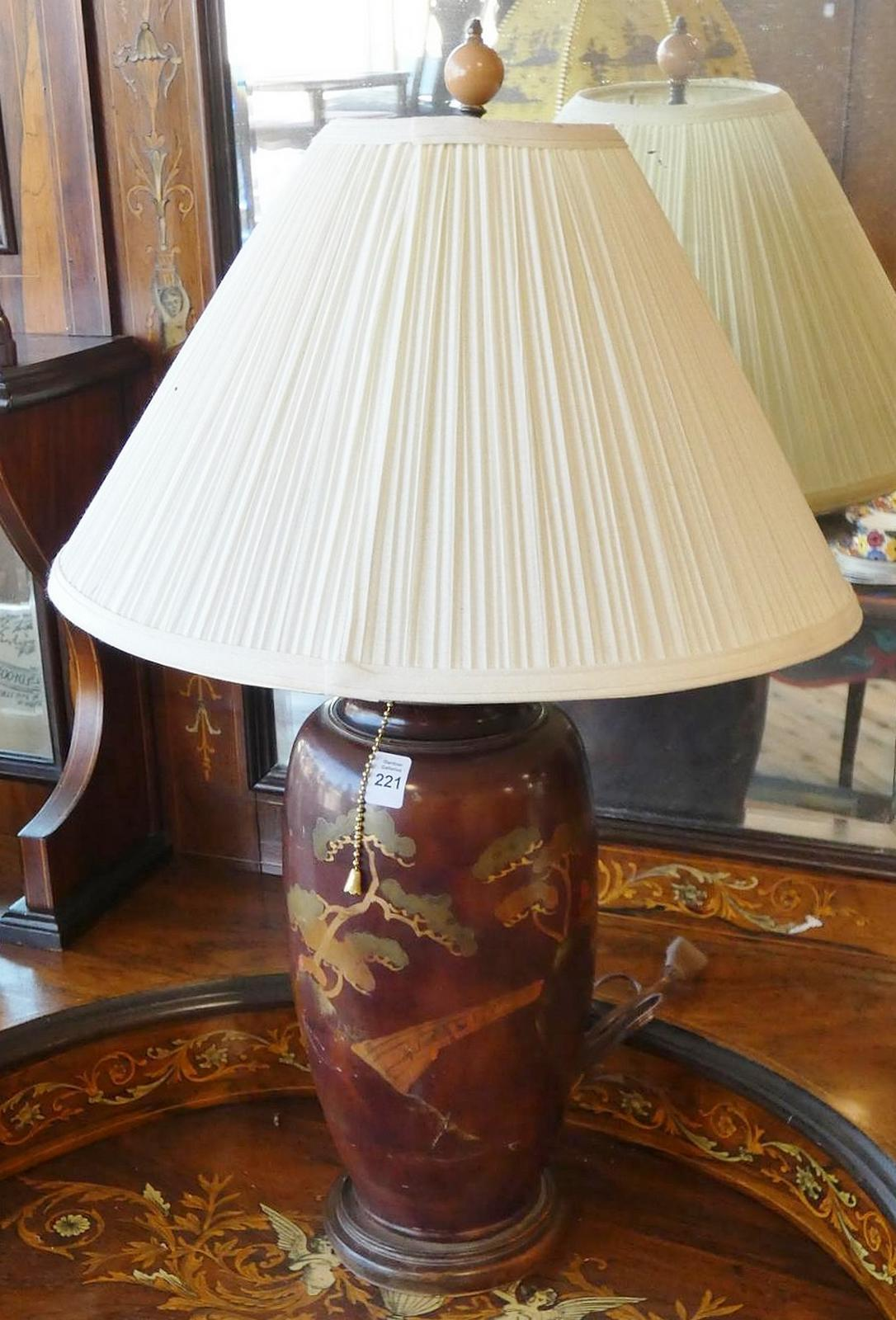 JAPANESE TABLE LAMP