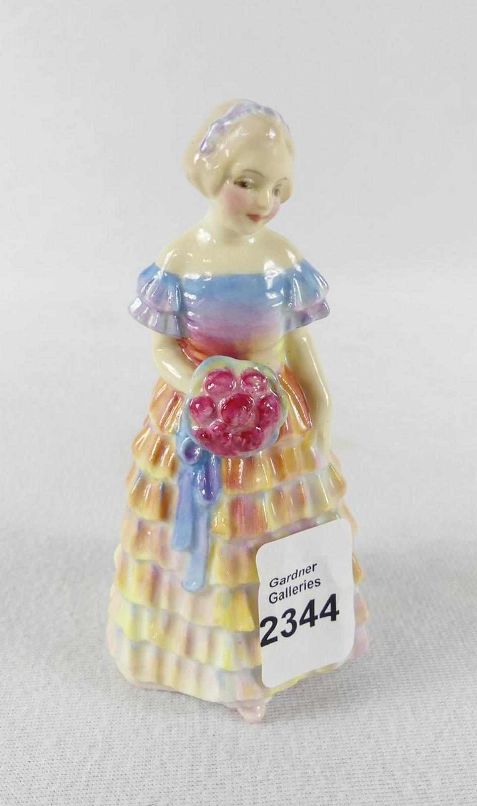 "DOULTON MINIATURE ""BRIDESMAID"""