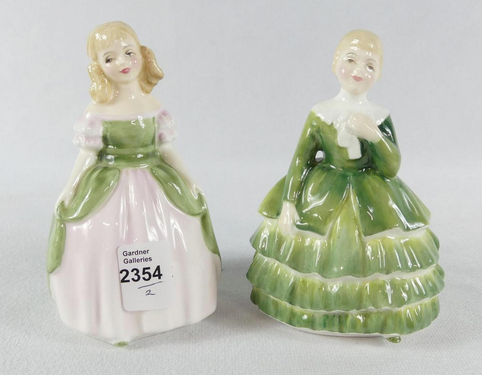 TWO DOULTON FIGURINES