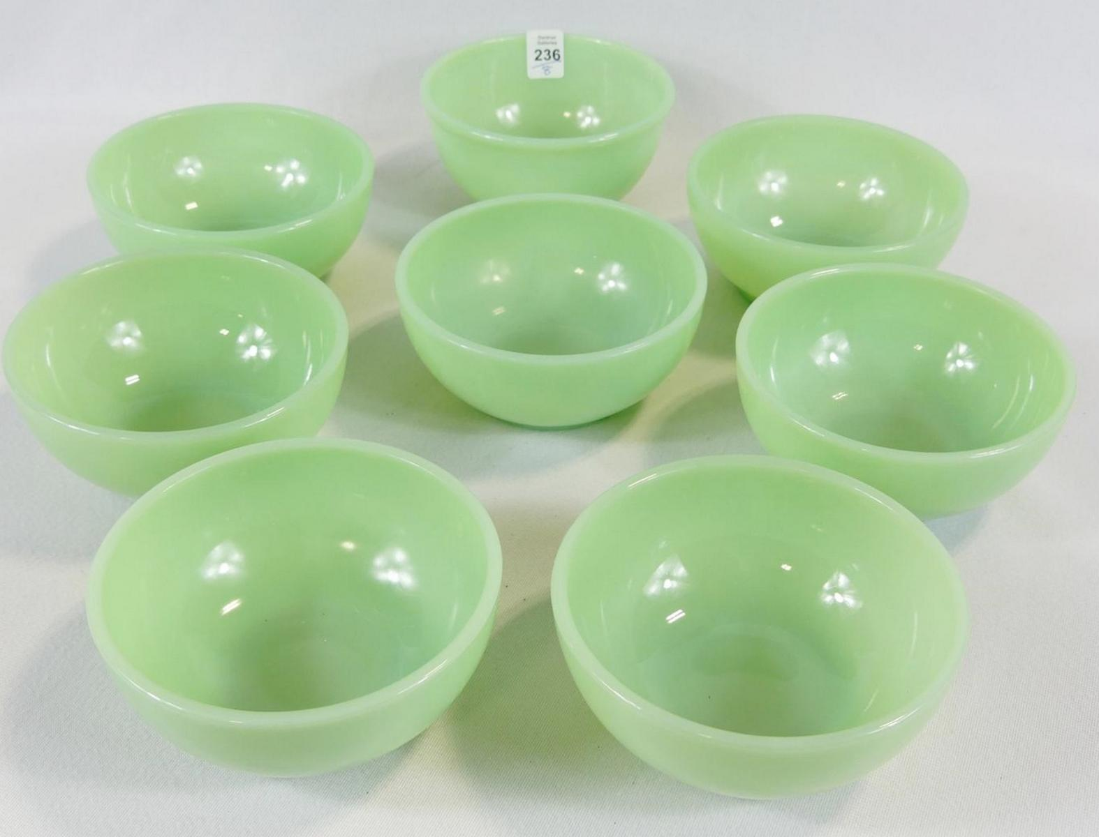 EIGHT FIRE KING BOWLS