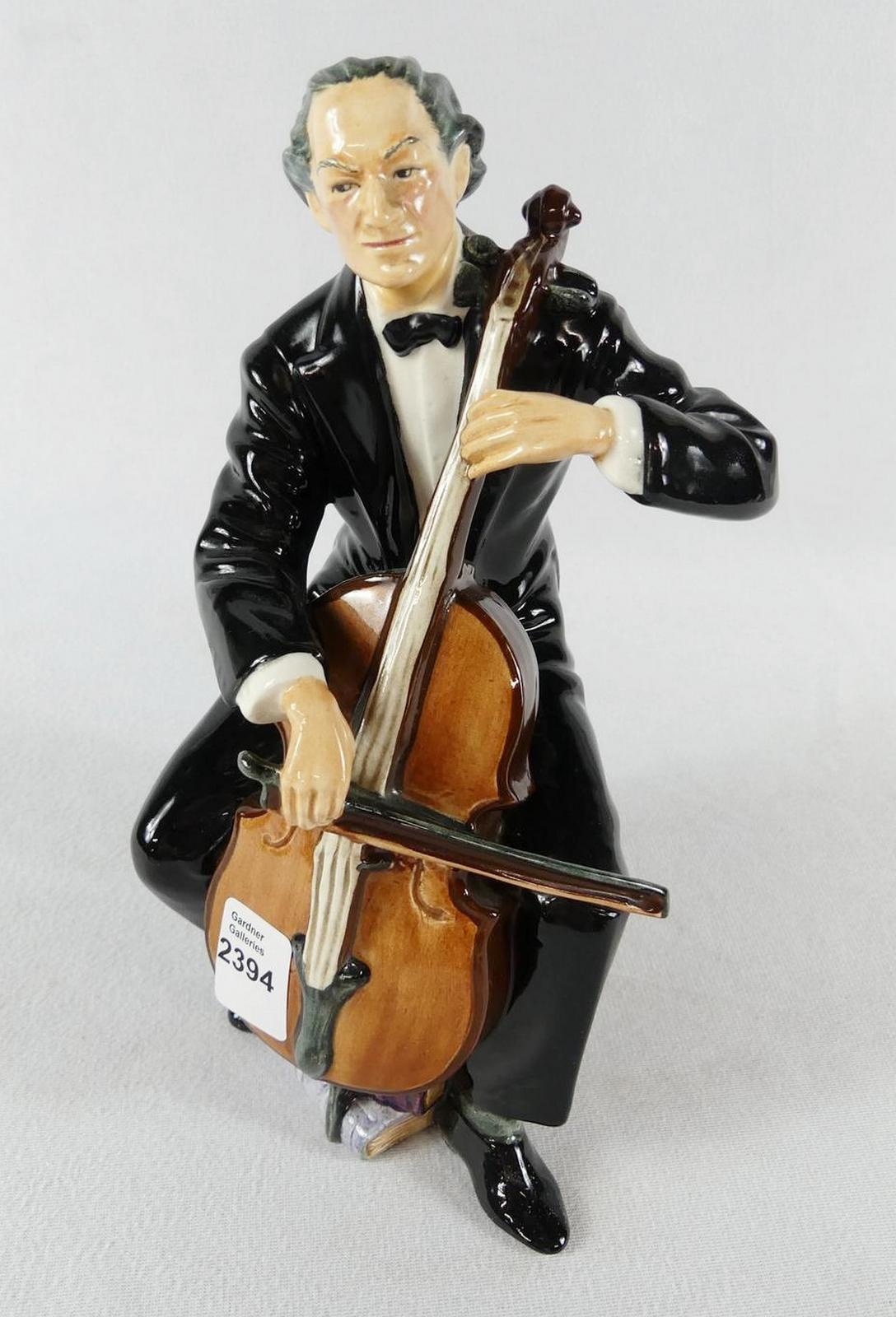"DOULTON ""THE CELLIST"""