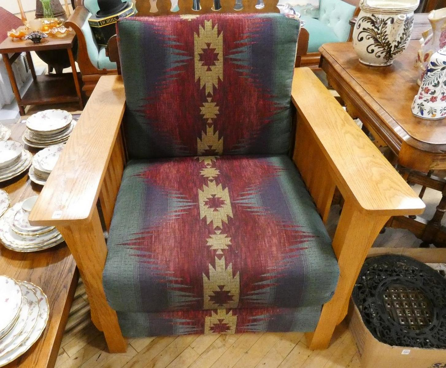 ARTS AND CRAFTS STYLE ARMCHAIR