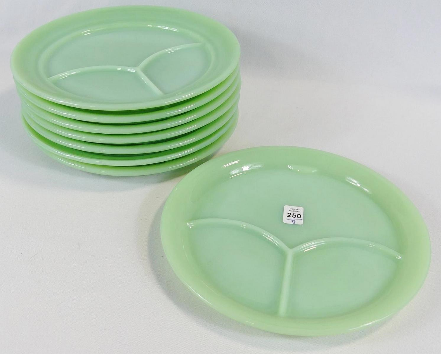 EIGHT FIRE KING PLATES