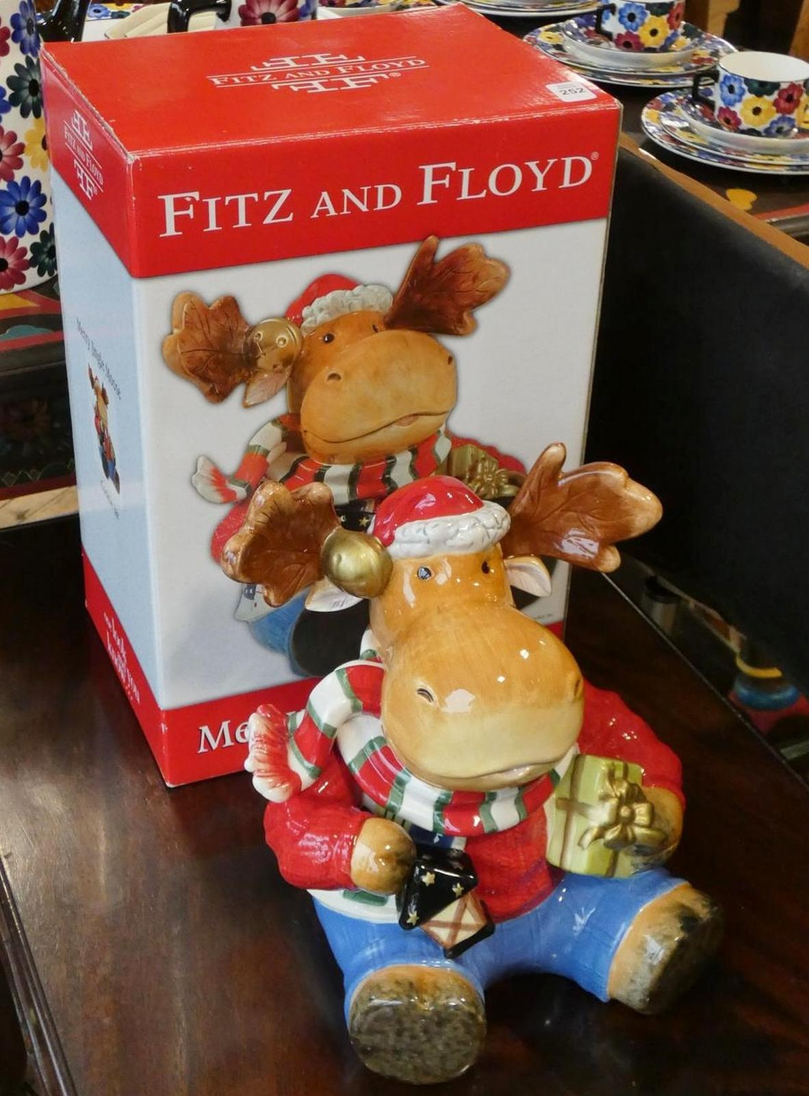 FITZ AND FLOYD COOKIE JAR