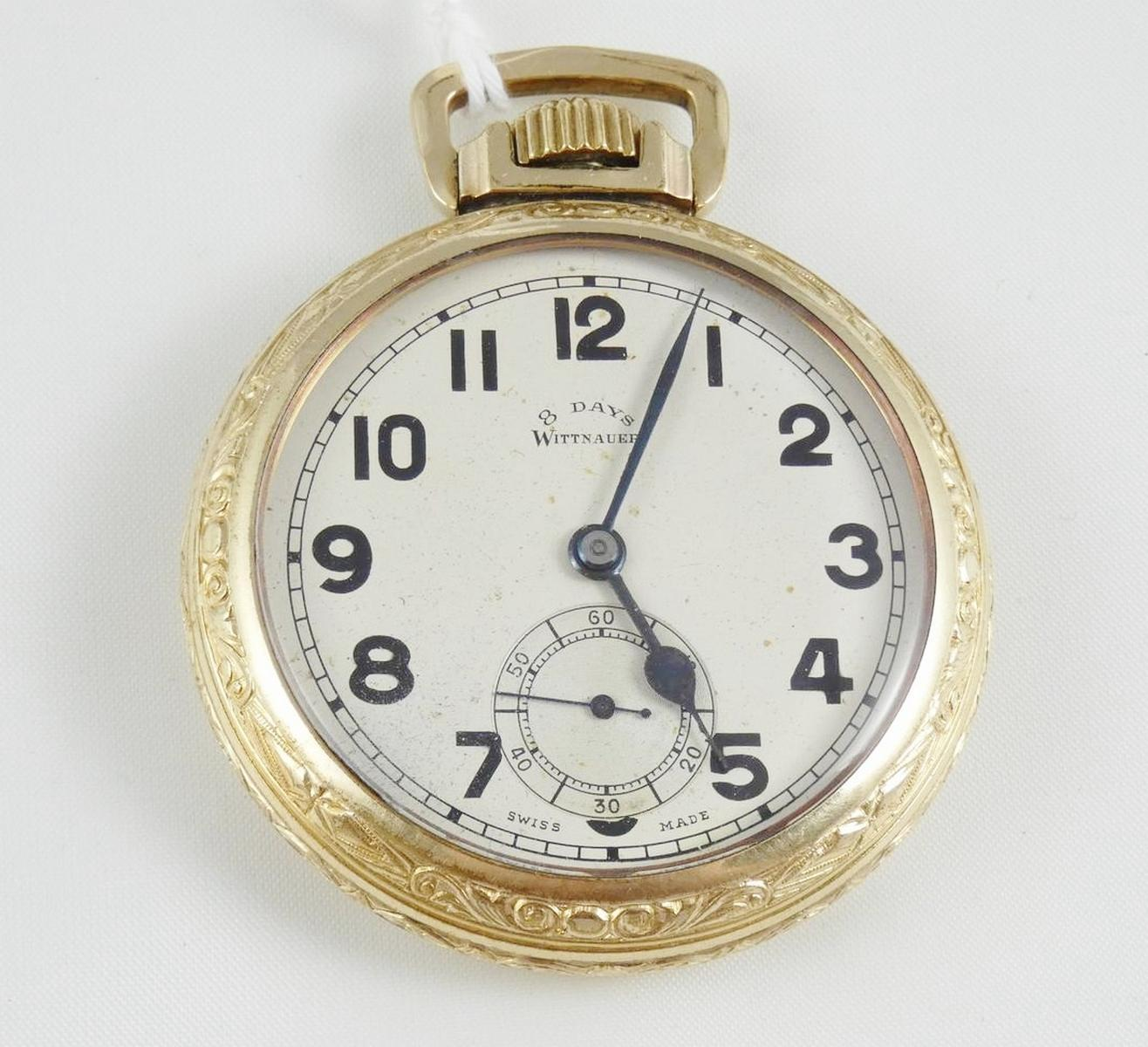 WITTNAUER POCKET WATCH