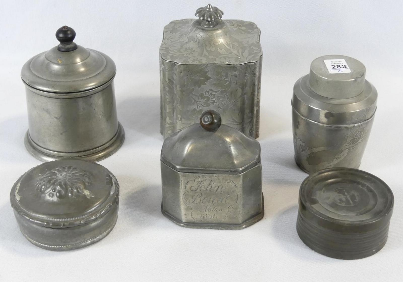 JARS AND BOXES