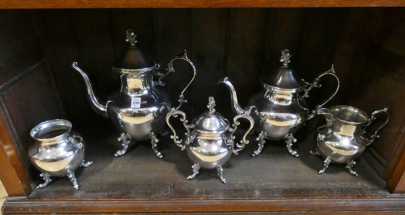 SILVERPLATE TEA  AND COFFEE SERVICE