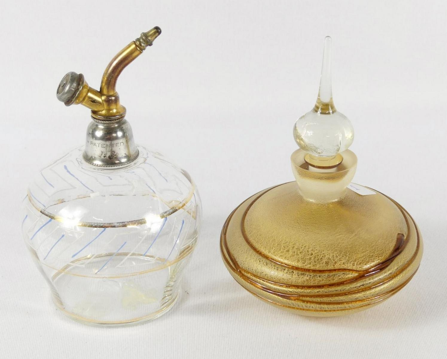 TWO SCENT BOTTLES