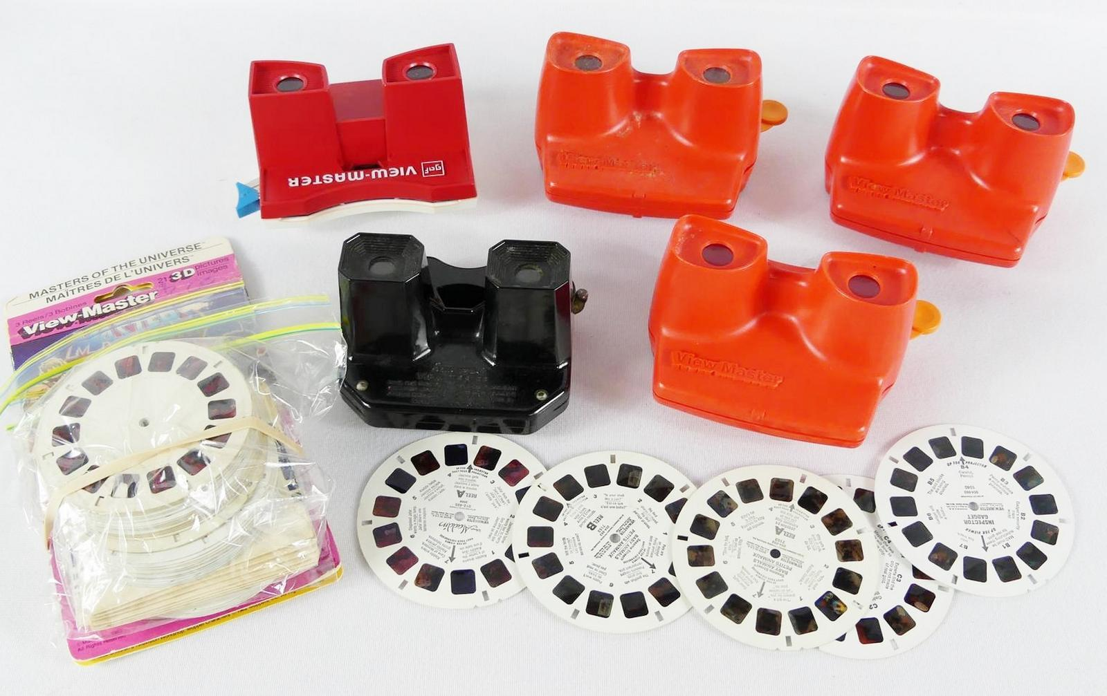 VIEW-MASTERS AND REELS