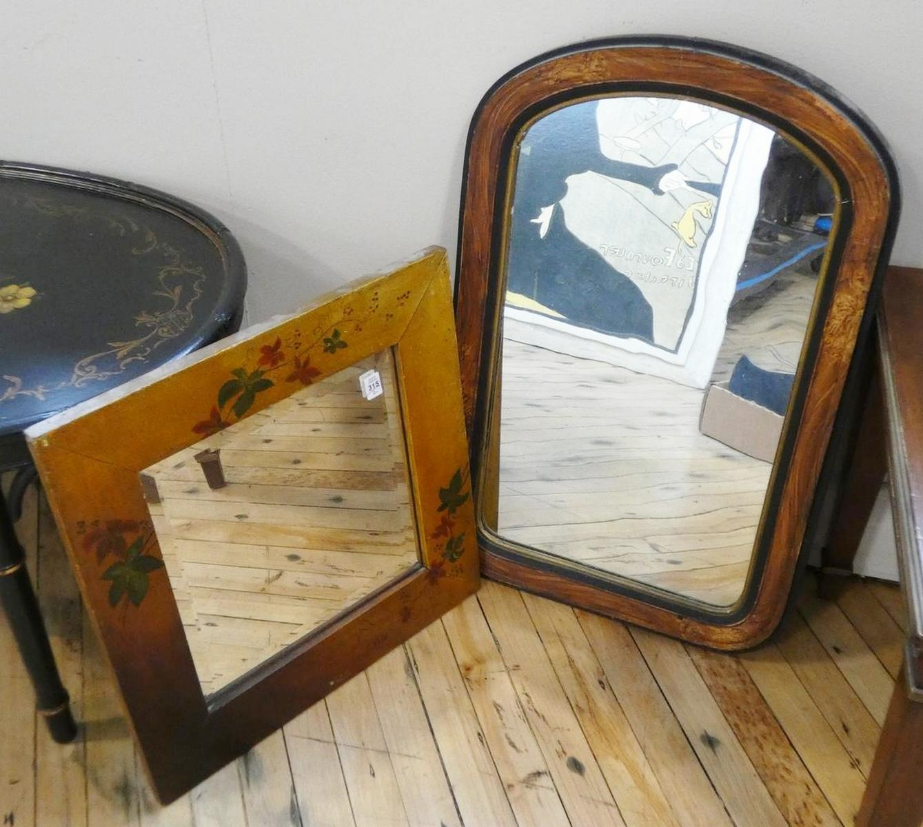 TWO WALL MIRRORS