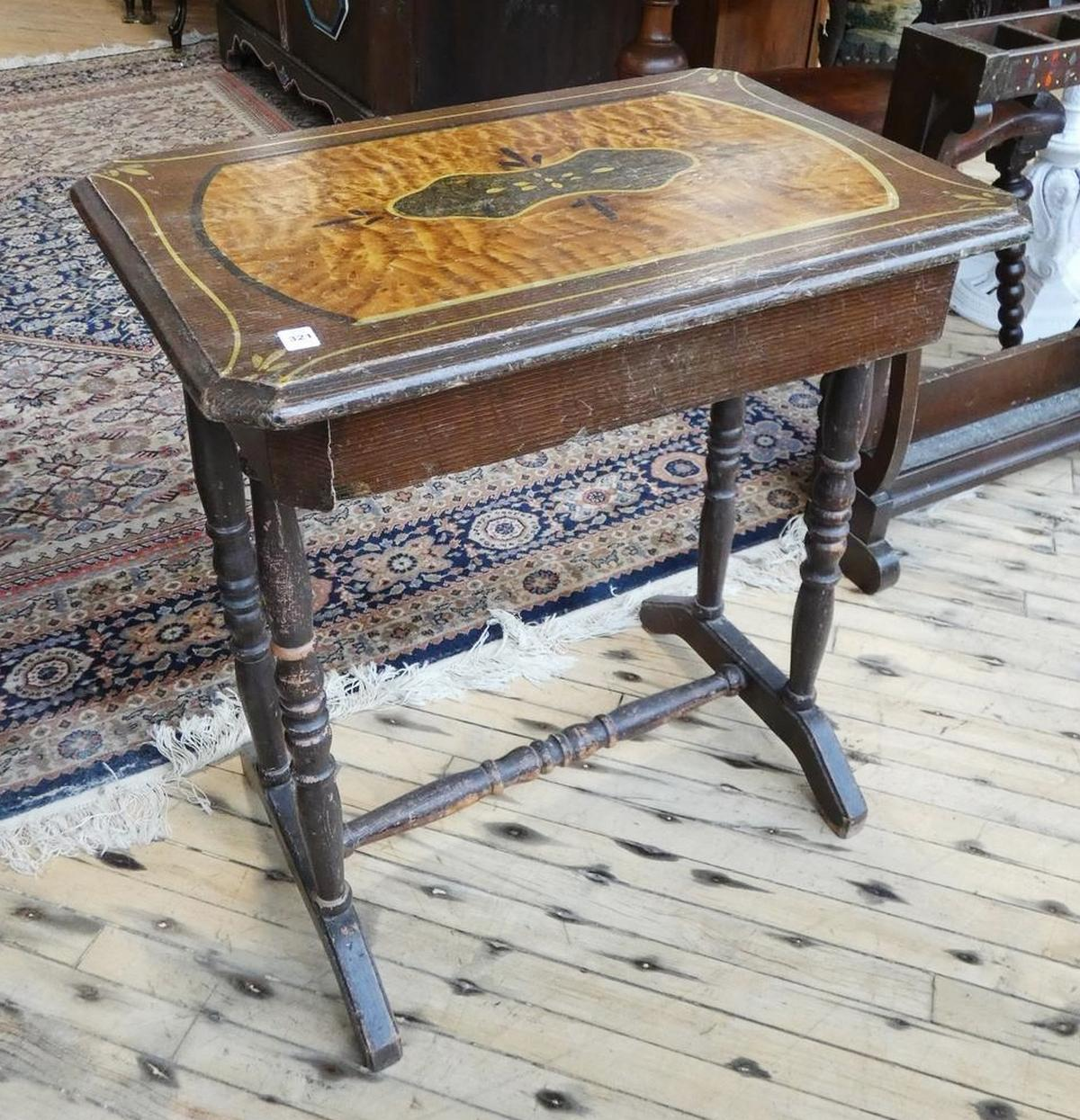 PRIMITIVE STAND TABLE