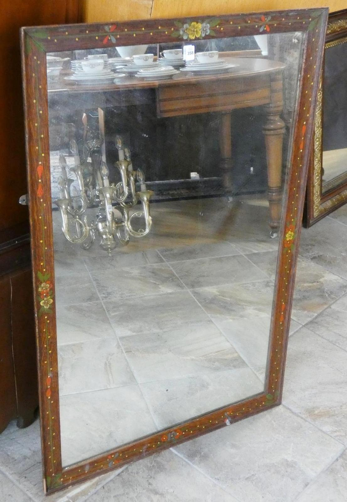 PAINTED WALL MIRROR