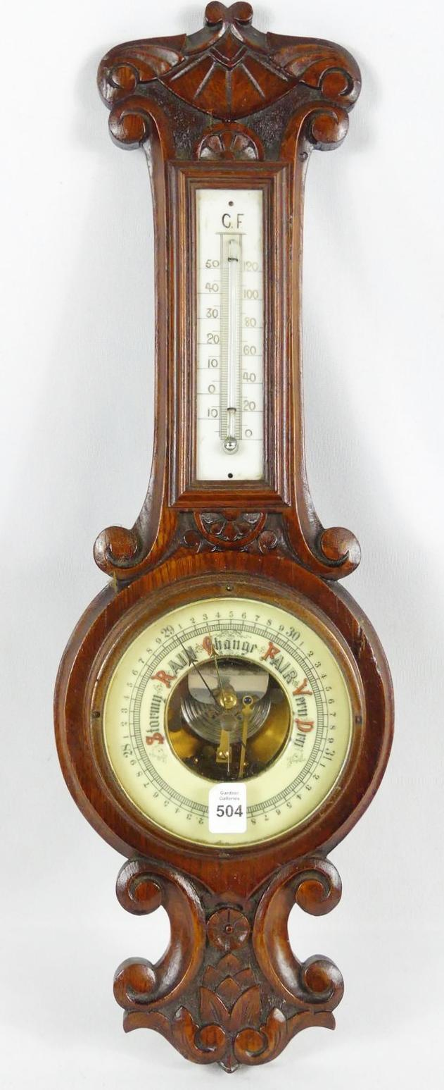 ANTIQUE WALL BAROMETER