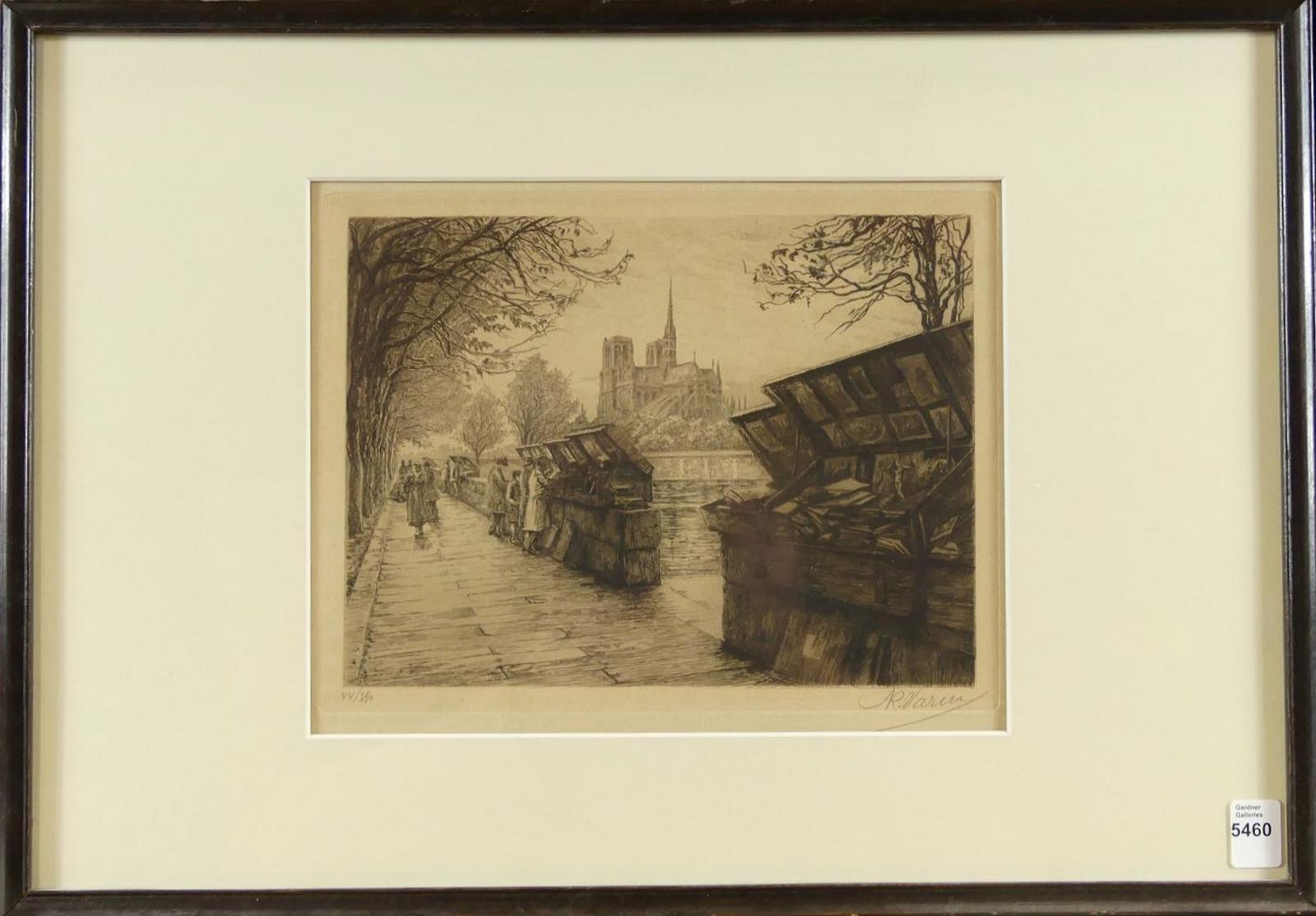 FRENCH ETCHING