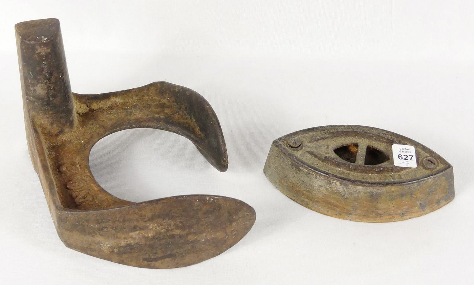 TWO ANTIQUE ITEMS