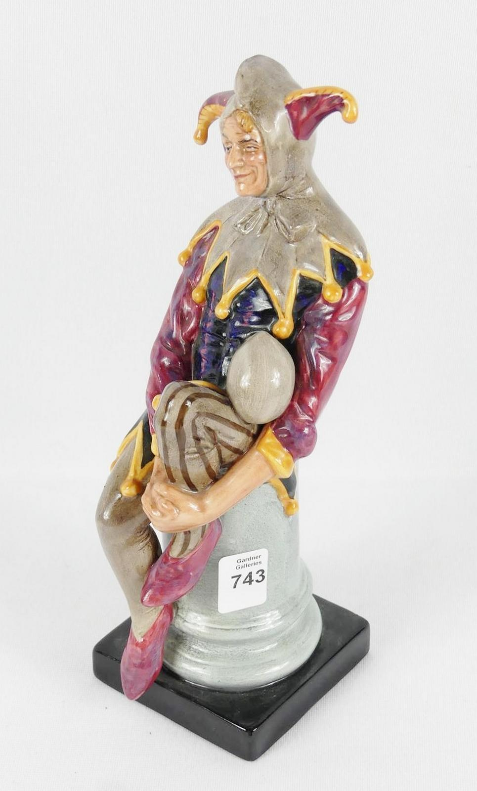 "ROYAL DOULTON ""THE JESTER"""