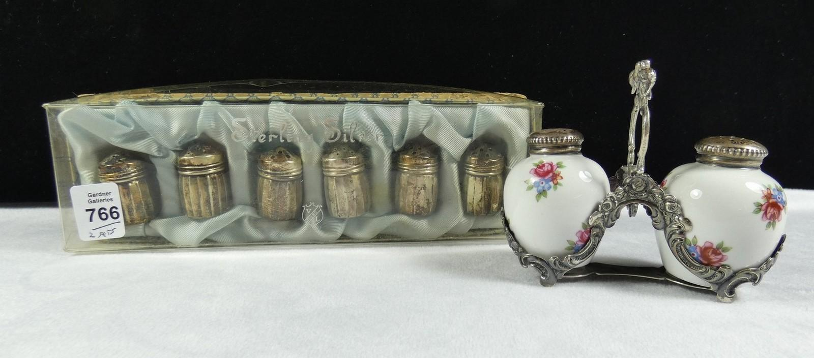 FOUR PIECES OF ANTIQUE ENGLISH CHINA
