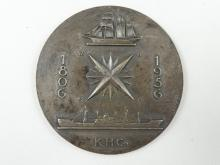 SOLID SILVER MEDALLION