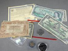 CURRENCY, ETC.