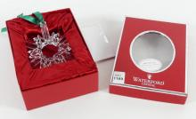 WATERFORD CRYSTAL DECORATION