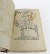 """ANTIQUE ENGLISH BOOK """"PARSIFAL"""""""