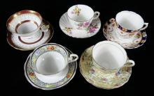 SHERIDAN BONE CHINA DINNERWARE, CUPS & SAUCERS