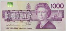 CANADIAN $1000 NOTE