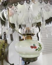 ELECTRIFIED HANGING OIL LAMP