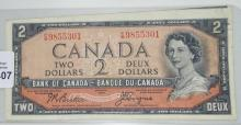 COLLECTOR'S CANADIAN NOTE