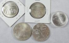 CANADIAN OLYMPIC COINS
