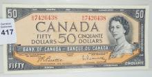 CANADIAN $50 NOTE