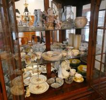 CHINA CABINET CONTENTS