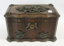 ANTIQUE BOX WITH ORSON WELLES PROVENANCE