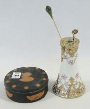HAT PINS, HOLDER AND BOX