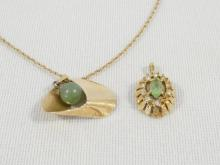 GOLD CHAINS AND PENDANTS