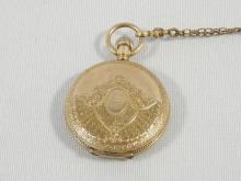 THE EMPRESS PENDANT WATCH AND CHAIN