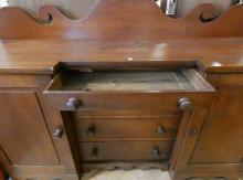 ANTIQUE CHERRY SIDEBOARD