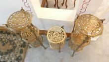 BRASS PLANT STANDS